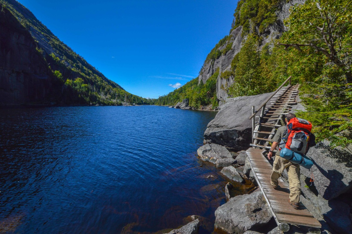 Avalanche Lake Trail Closed  25 Adirondack
