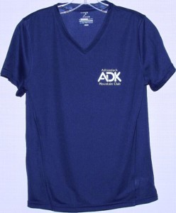 Navy Women's Microfiber Shirt