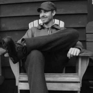 Seth Jones sitting in a chair
