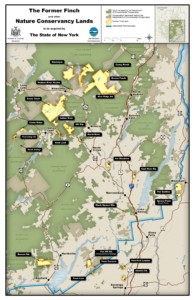 Map of the MacIntyre East Tract and other easements