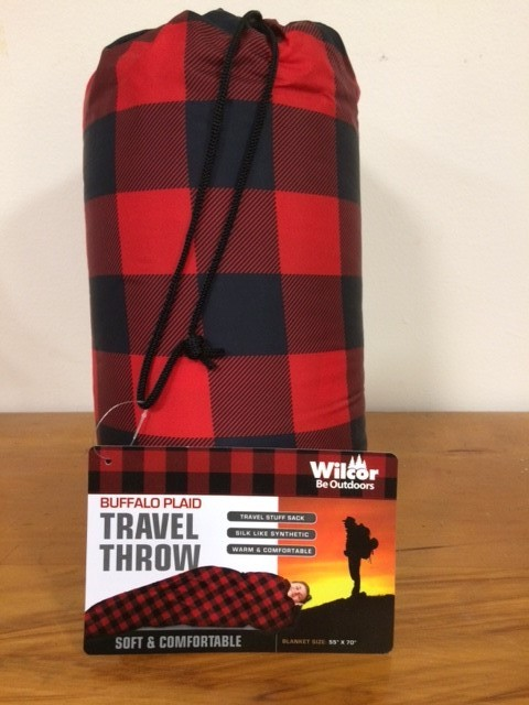 Buffalo Plaid Travel Throw