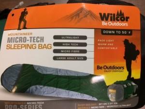 Micro-Tech sleeping bag image