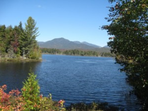 Overlooking the Boreas Ponds