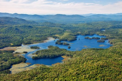 Boreas Ponds from the air