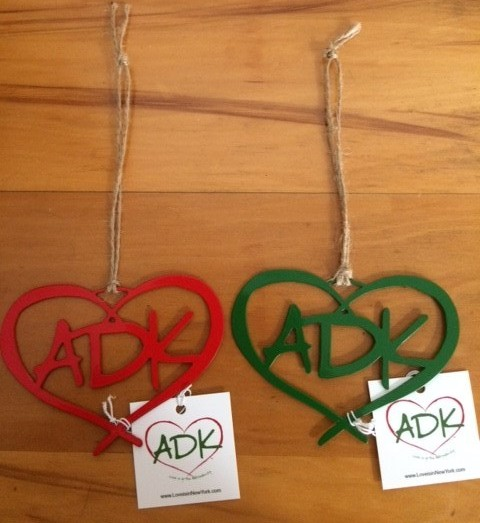 ADK Painted Ornament