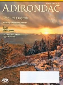Adirondac cover March-April 2019