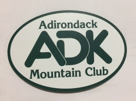 ADK Oval Magnet
