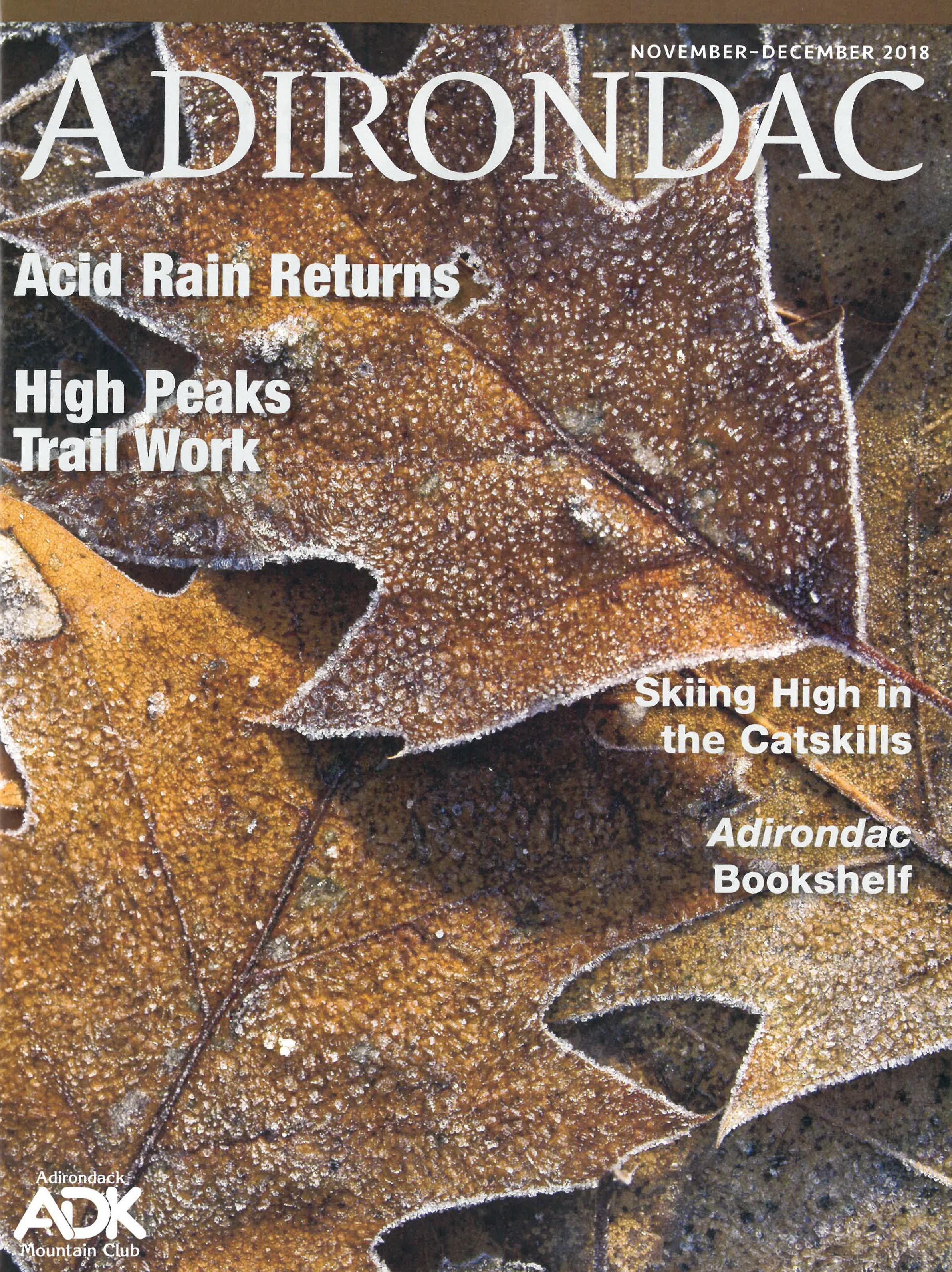Adirondac Magazine Adirondack Mountain Club