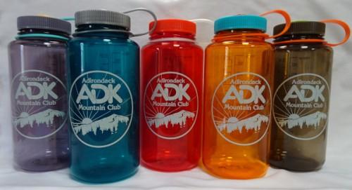 Image of different color nalgene bottles