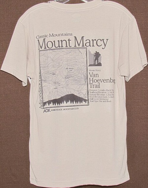 ADK Mount Marcy T-Shirt