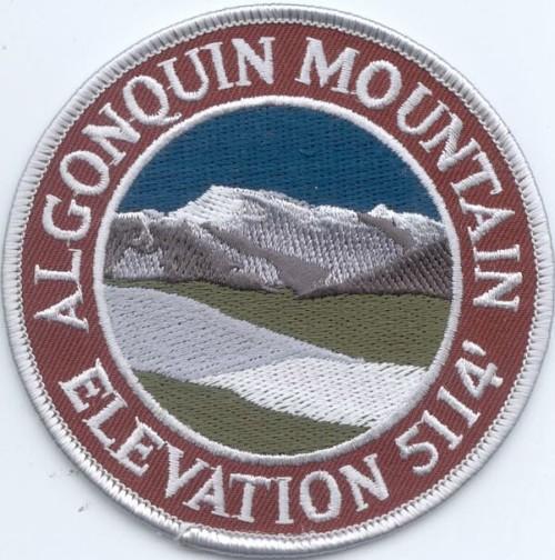 Algonquin Mountain Patch