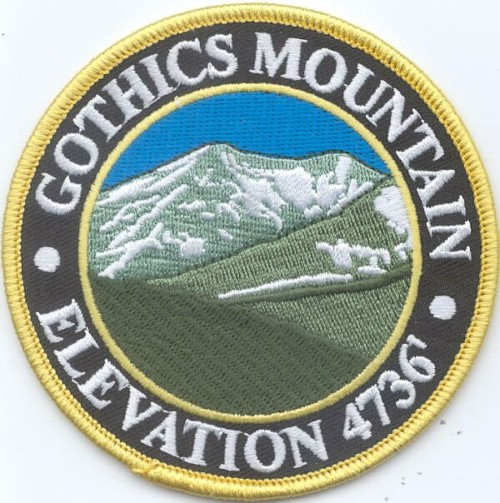 Gothics Mountain Patch