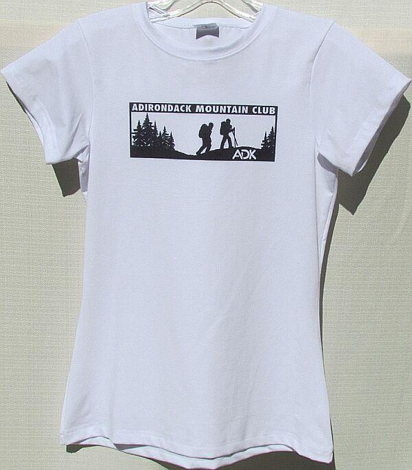 White Ladies Moisture Wick Shirt