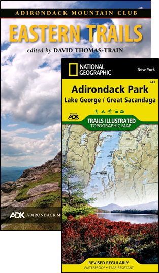 Guide to Adirondack Trails Northern Region Forest Preserve Vol 2