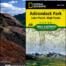 ADK High Peaks Trails guide and map