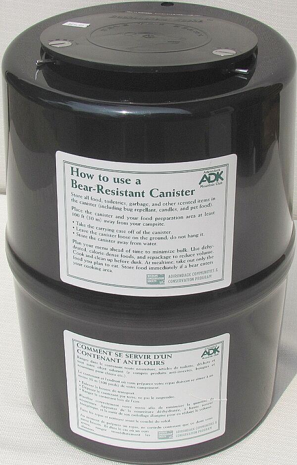 1851 - Bear Canister