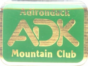 ADK Traditional Logo Pin