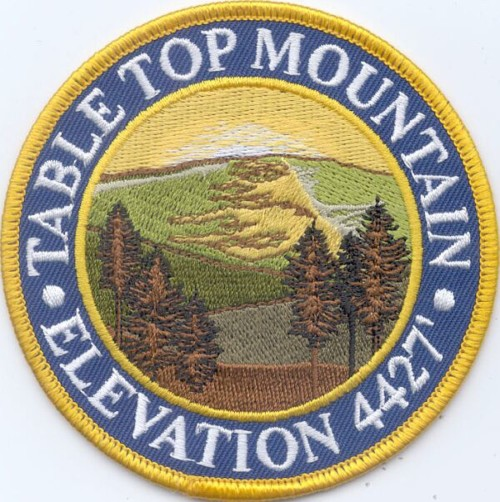 Table Top Mountain Patch