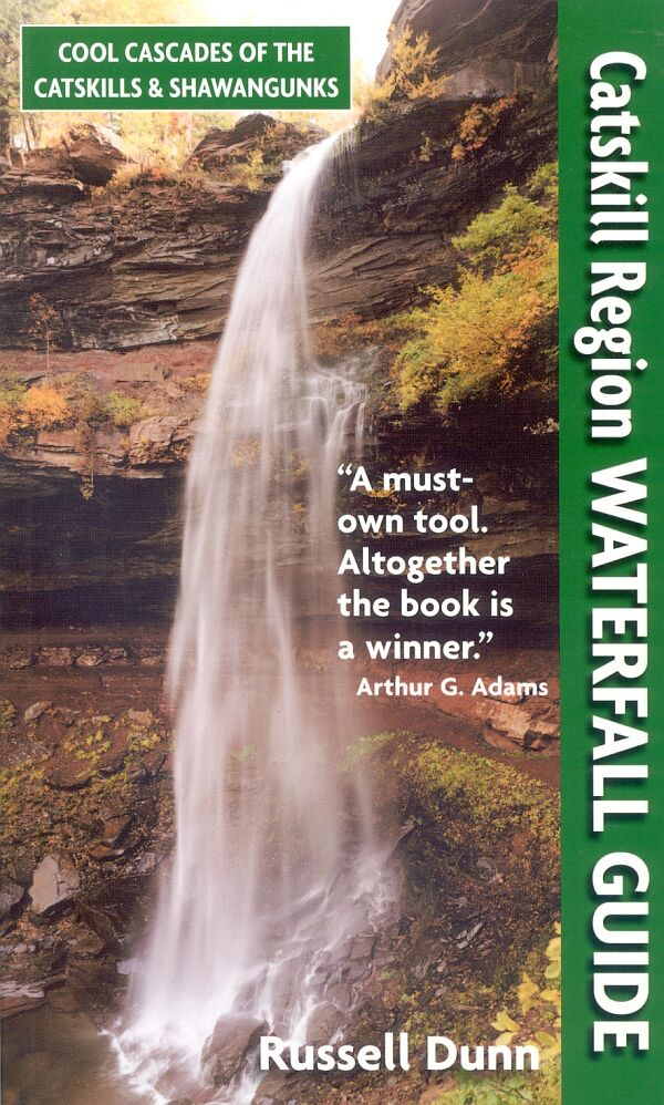 Catskill Region Waterfall Guide book