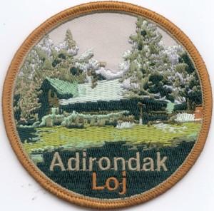 Adirondack Loj Patch