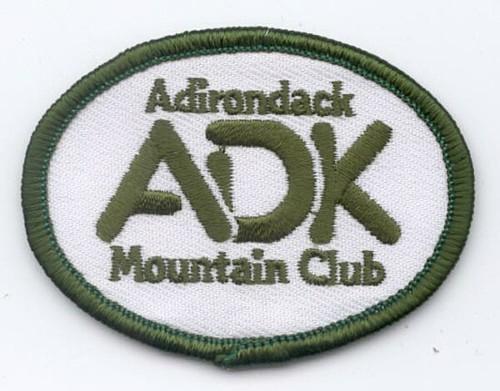 ADK Oval Logo Patch