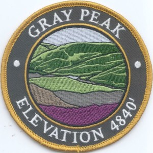 Gray Peak Patch