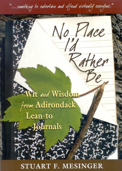 No Place I'd Rather Be book by Stuart F. Mesinger