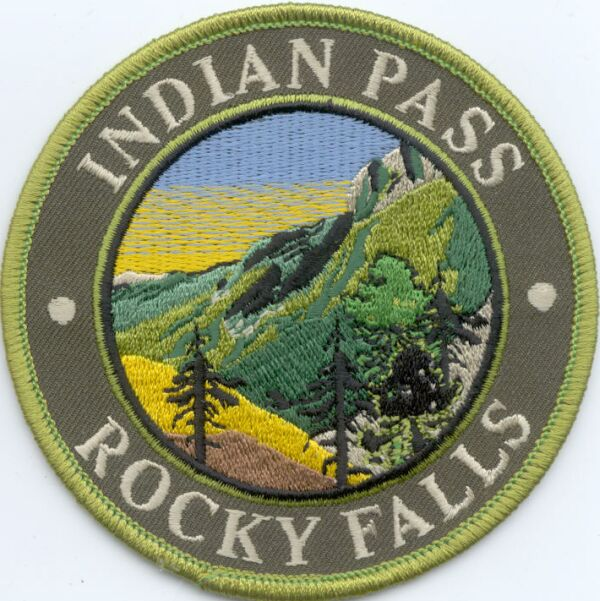 Indian Pass Rocky Falls Patch