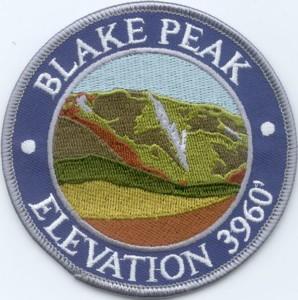 Blake Peak Patch