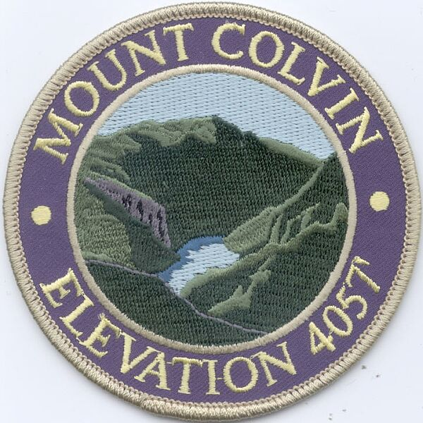 Mount Colvin Patch