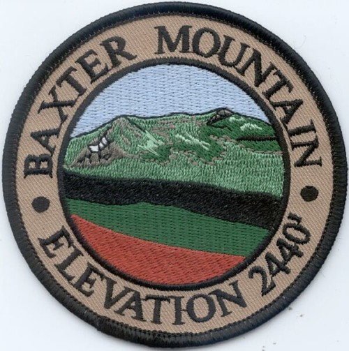 Baxter Mountain Patch