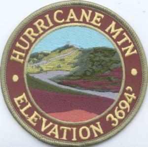 Hurricane Mountain Patch