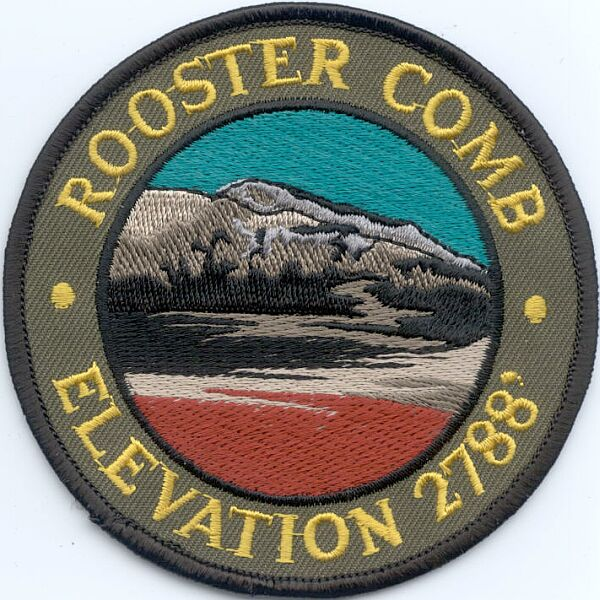 Rooster Comb Patch