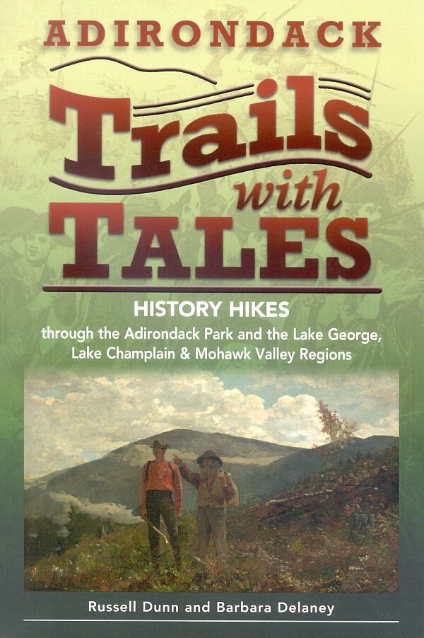 Adirondack Trails with Tales book