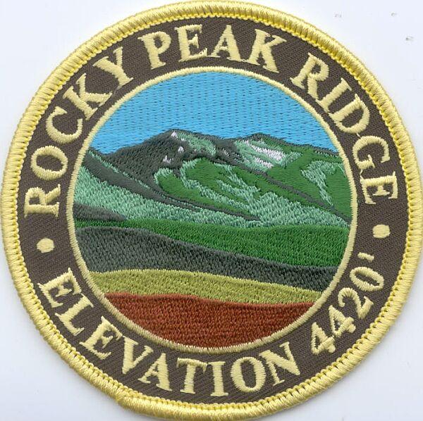 Rocky Peak Ridge Patch