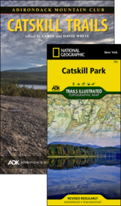 ADK Catskill Trails guide book and map pack