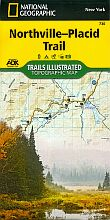 ADK National Geographic Northville-Placid Trail map #736