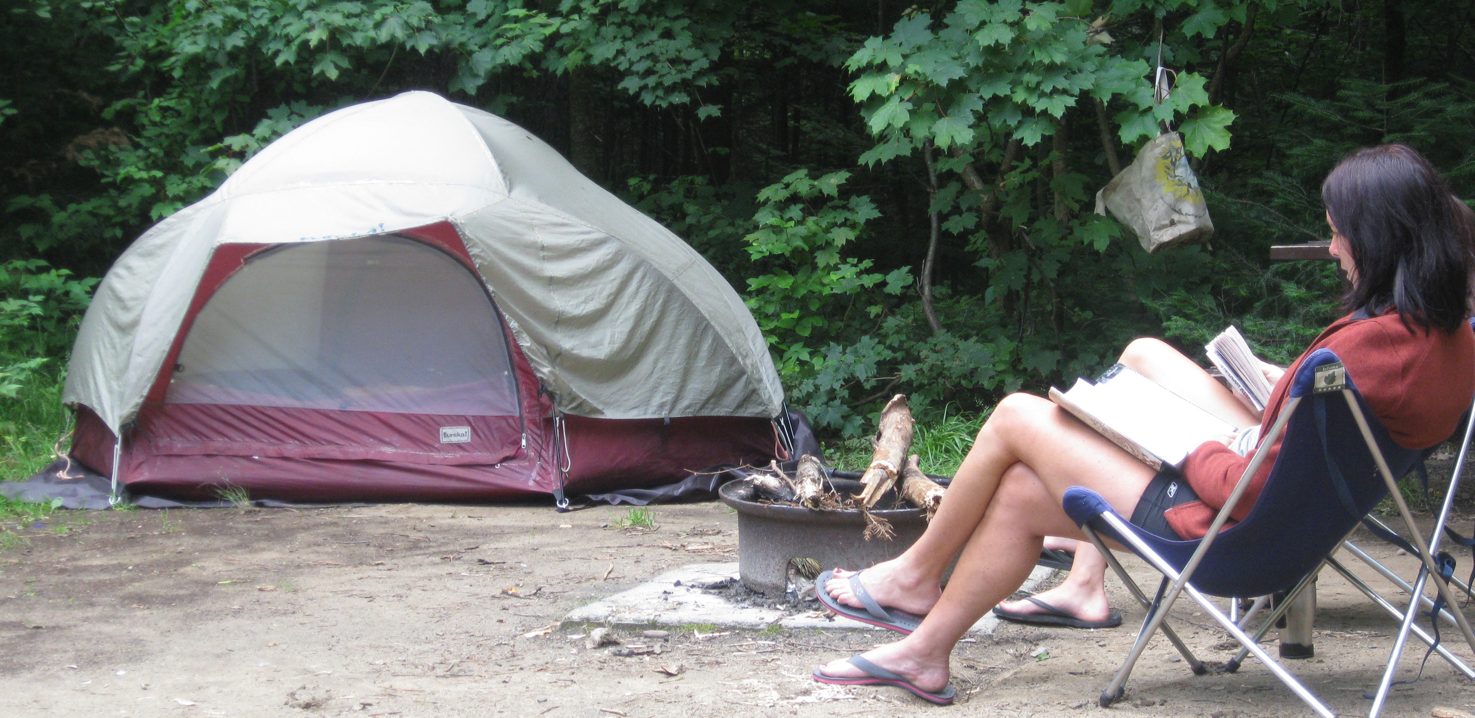 Wilderness C&ground at Heart Lake & Wilderness Campground at Heart Lake New York | Adirondack Mountain ...