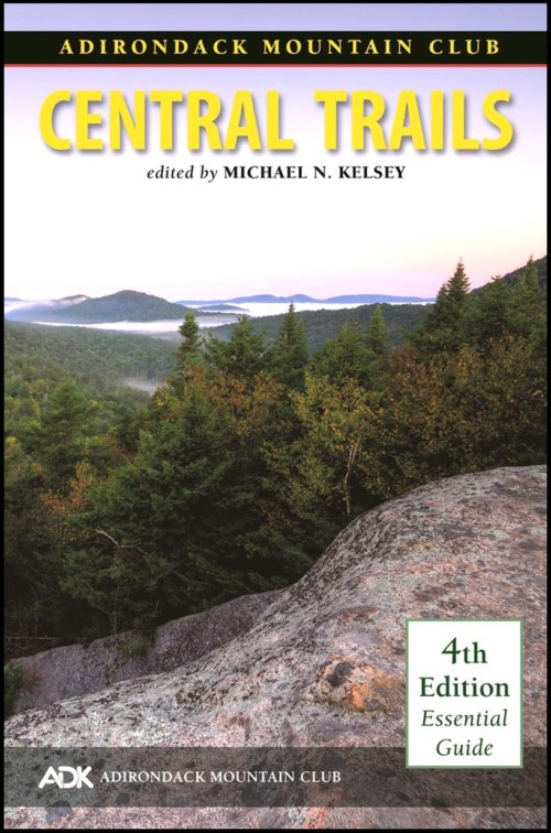 ADK Central Trails guide book