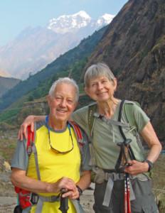 Senior Hiking Couple