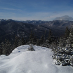 Hopkins Mountain in winter