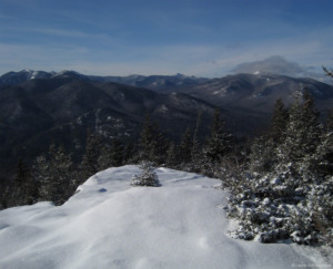 Hopkins Mountain in winter