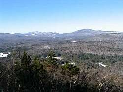 View from Sawyer Mountain