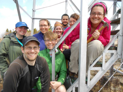 Hadley Fire Tower Group Photo