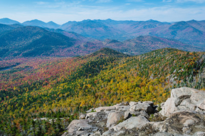 Fall colors from Hurricane Mountain