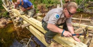 Supervised Volunteer Trail Crew
