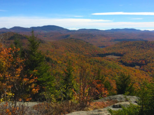 Fall colors in the Central Adirondacks