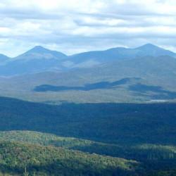 High Peaks from Vanderwhacker Mountain