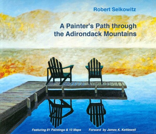 A Painter's Path through the Adirondack Mountains Book