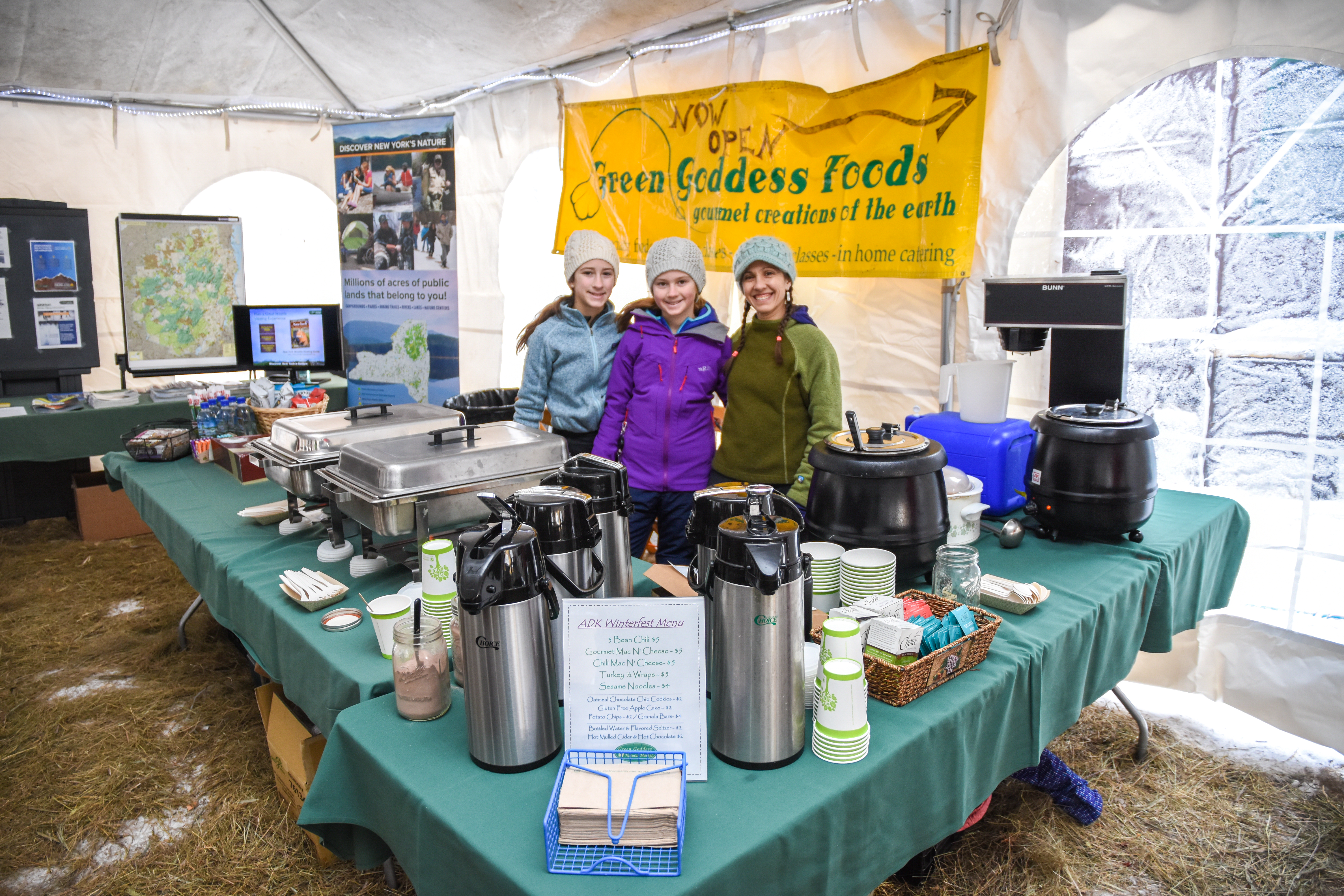 Great food by Green Goddess Foods.  Photo by Seth Jones